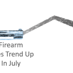 Firearm Sales Trend Upwards in July